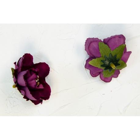 Троянда мала 4 см.марсалова