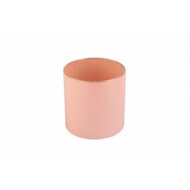 Plastic tube for flowers (pink)