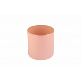 Тубус для квітів пластиковий (рожевий)