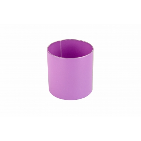 Тубус для квітів пластиковий (фіолетовий)