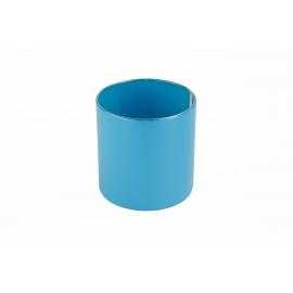 Тубус для цветов пластиковый (голубой)