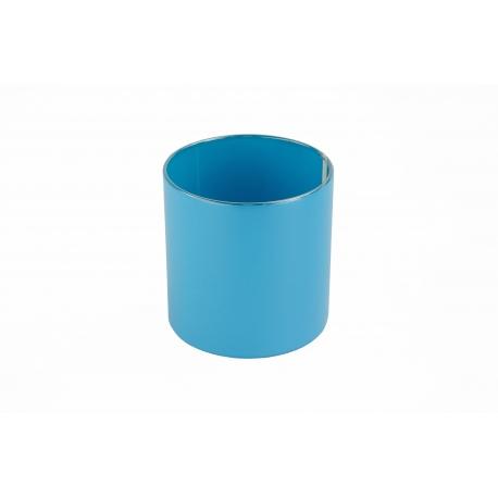 Тубус для квітів пластиковий (блакитний)