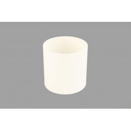 Тубус для квітів пластиковий (білий)