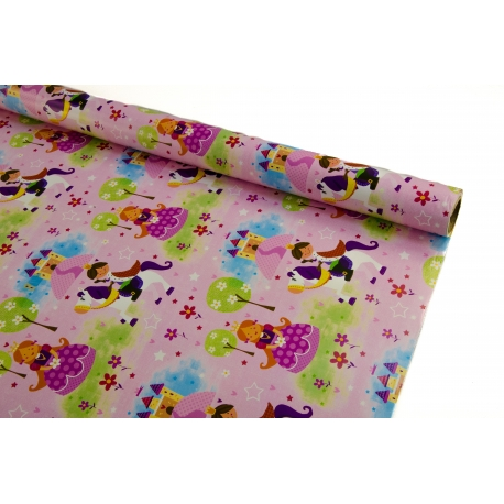 Paper 0.7m * 10yards Princess
