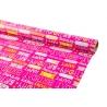Папір крейдований 0,7м*10ярдів «HAPPY BIRTHDAY на рожевому»