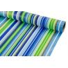 Папір крейдований 0.7м*10 ярд Сині та зелені смужки