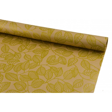 Retro Paper 0.7 * 10 yard Gold leaflets for craft 206-1