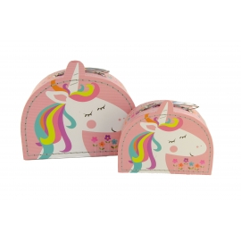 Set of suitcases 2 pcs Unicorn