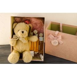 Косметичний набір (5 одиниць) з ведмедиком