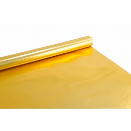 Coated paper 0.7 m x 10 yards Gold