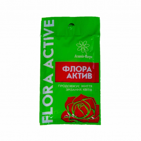 "Fertilizer for flowers ""Flora Active"" 7 g / 1 l"