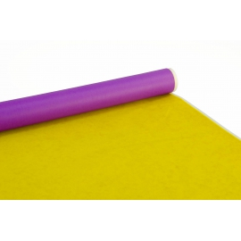 Double-sided paper PRESIDENT 0,7m x 8m Purple + Yellow