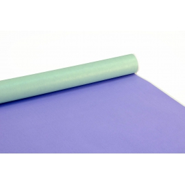Double-sided paper PRESIDENT 0,7m x 8m Purple + Mint