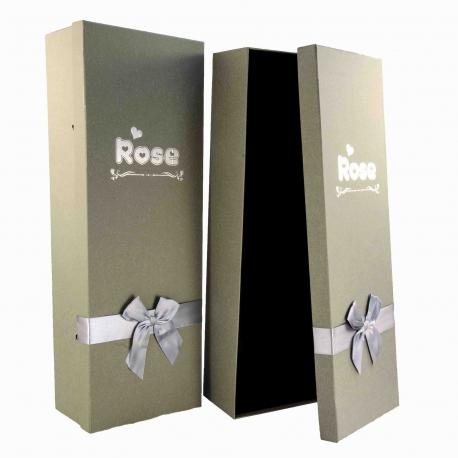 Набір прямокутних коробок для троянд 2 шт. 1002