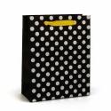 Пакет бумажный Серебряный горох EC-M-1559