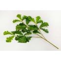 Гілка штучного листя дуба 19V-2