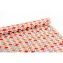 Папір крейдований 0,7м х 10 ярд «HAPPY BIRTHDAY» Ромбики
