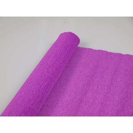 Креп №590 Фиолетовый светлый