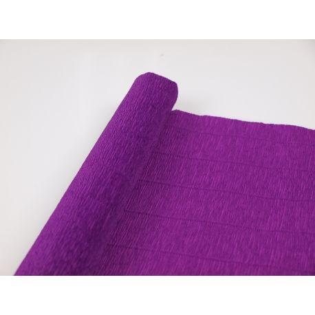 Креп №593 Фіолетовий класичний