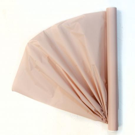 Бумага для цветов калька (30г) President 0,5 * 15м Пудровая 604