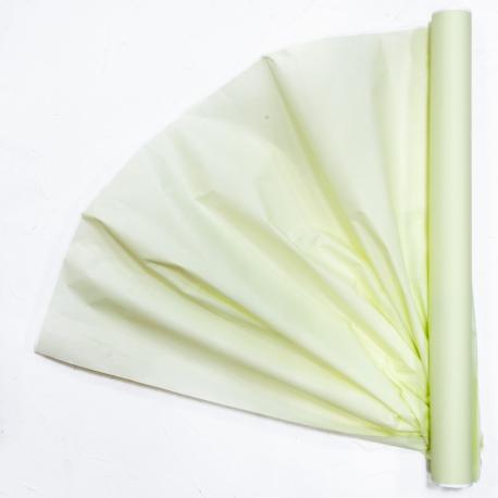 Бумага для цветов калька (30г) President 0,5 * 15м Винтаж-Салат 302