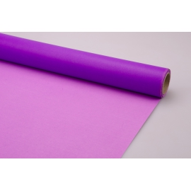 Paper for flowers 8 m * 50 cm, 100 microns Violet + Peony 5051