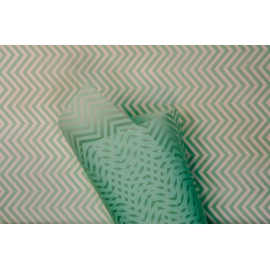 Zigzag foil P.WM 30 Tiffany Blue