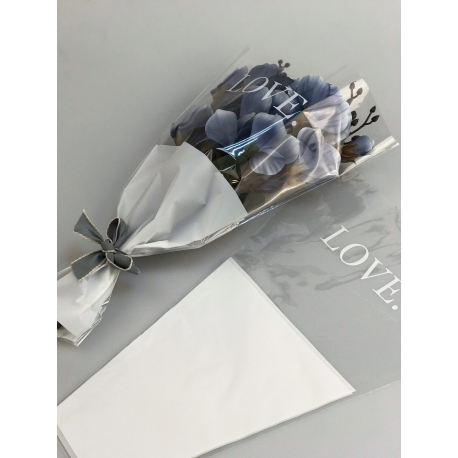 Пакеты для цветов SB.DOZHD-111 White