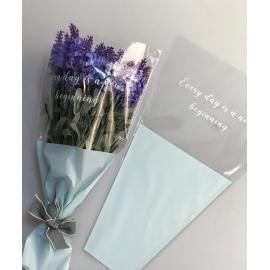 Пакети для квітів SB.DOZHD-131 Light Blue