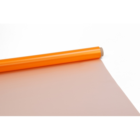Matte film Perl in a roll 0,7 x 9m 50mсr P.ZGZ-051 Autumn Orange