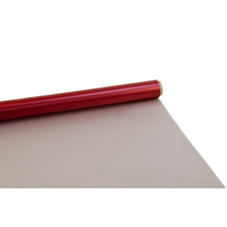 Пленка матовая Perl в рулонах 0,7 x 9м 50мкр P.ZGZ-012 Red