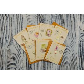Вітальна листівка з конвертом For You 6*10см