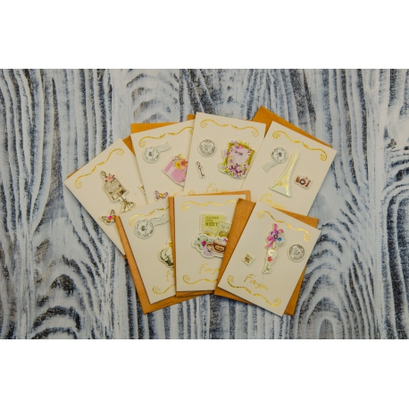 Greeting card with envelope For You 6 * 10cm