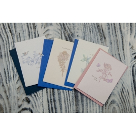 Greeting card with envelope MINI1825 12.3 * 8.6