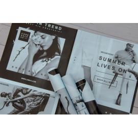 Пленка матовая в листах SSFC Fashion Lt Blue 135