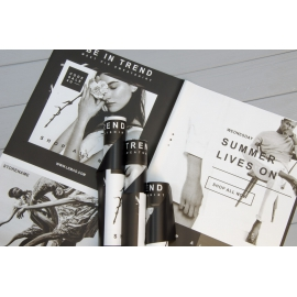 Плівка матова в листах SSFC Fashion Black 171