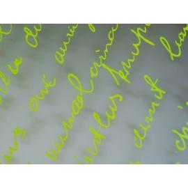 Плёнка с рисунком «Письмо» салат