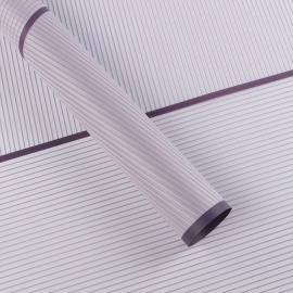 The film is matte striped from the border 60 × 60 cm.