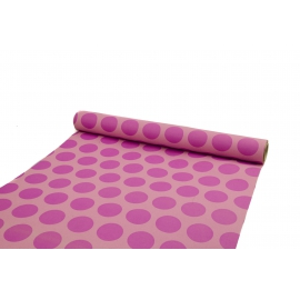 Paper 500mm RETRO PEAS Pink 601