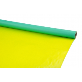 Paper bilateral PRESIDENT 0,7m * 8m Turquoise + Yellow
