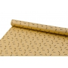 """Coated paper 0.7 * 10yard """"Gray bows"""" for kraft"""