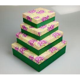 Комплект коробок №50 23×23×8см