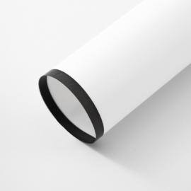 Плівка матова в листах чорна кайма на білому P.HBGZ-111