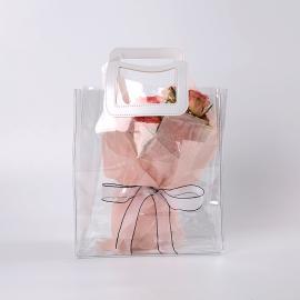 Polypropylene package transparent 25x15x28cm HB.GDD