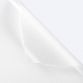 The matte film in sheets is dense P.QCS-111 White