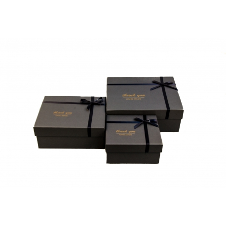 Набір коробок для подарунків з 3 шт 107-37-1