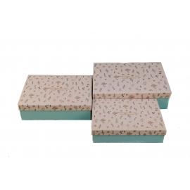 Набір коробок для подарунків з 3 шт 08195-71