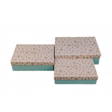 Набор коробок для подарков с 3 шт 08195-71