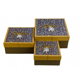 Набор коробок для подарков с 3 шт JKZ-51
