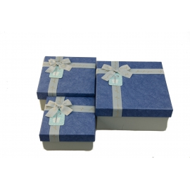 Набір коробок для подарунків з 3 шт JKZ-81